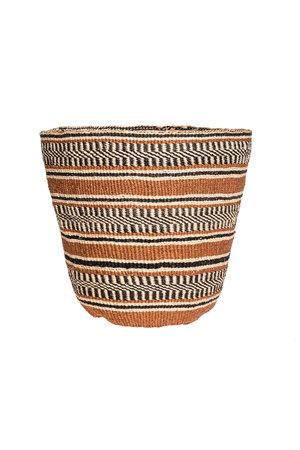 Couleur Locale Sisal mandje Kenia - aardetinten #19