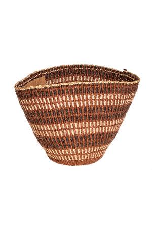 Couleur Locale Sisal mandje Kenia - aardetinten #18