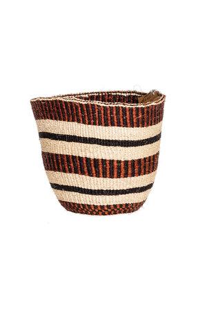 Couleur Locale Sisal mandje Kenia - aardetinten #14