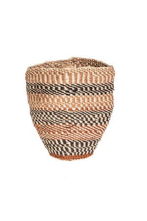 Couleur Locale Sisal mandje Kenia - aardetinten #11