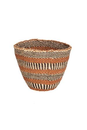 Couleur Locale Sisal mandje Kenia - aardetinten #10