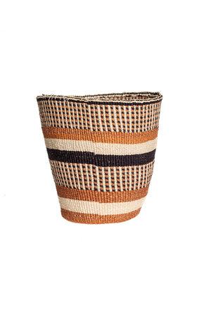 Couleur Locale Sisal mandje Kenia - aardetinten #32