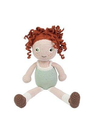 Sebra Crochet doll - Hanna