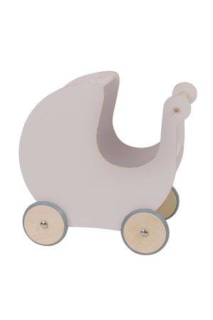 Sebra Houten poppenwagen - dusty pink