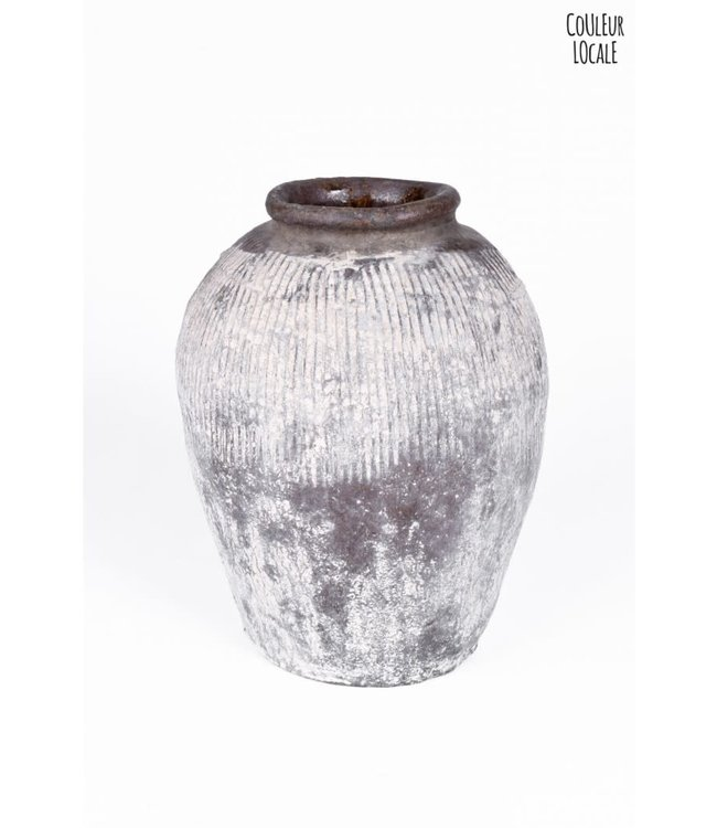 Vintage rice wine jar