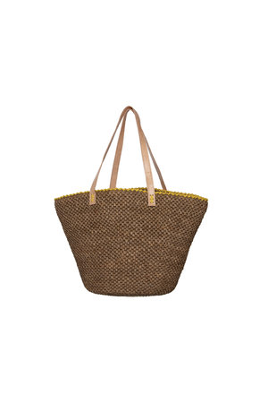 Made in Mada Julie bag - yellow