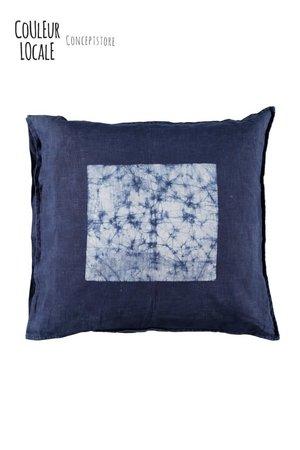 Heartwear Indigo cushion #3