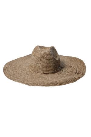 Made in Mada Aziz hoed - bruin