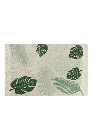 Lorena Canals Tropical green rug