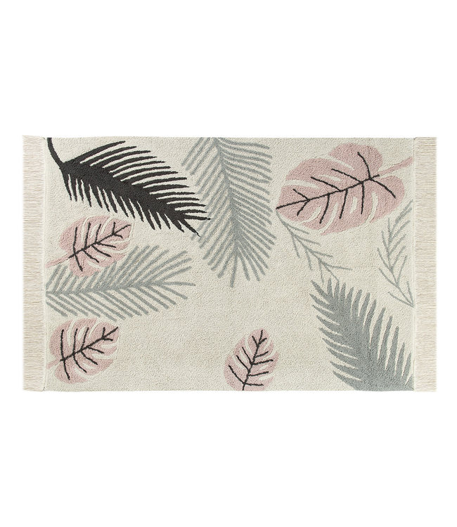 Lorena Canals Tropical roze tapijt