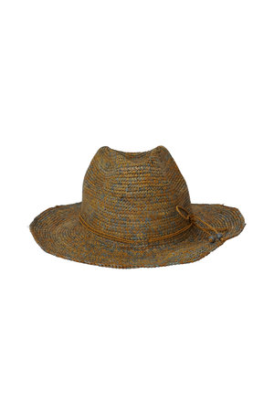 Made in Mada Elya hoed chine - bruin/grijs
