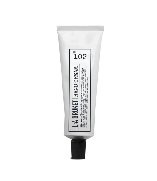 LA Bruket 102 Hand cream bergamot/patchouli - 30 ml