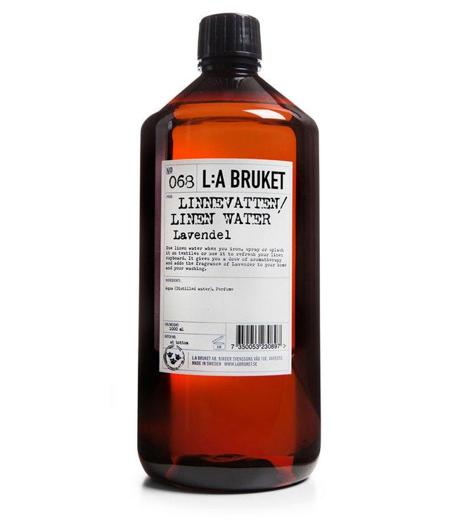 LA Bruket 068 Linen water lavender - 1000 ml