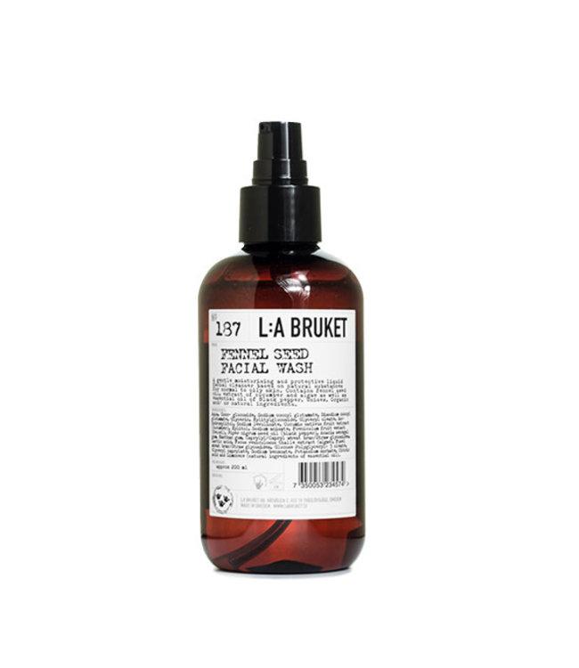 LA Bruket 187 Fennel seed facial wash - 200 ml