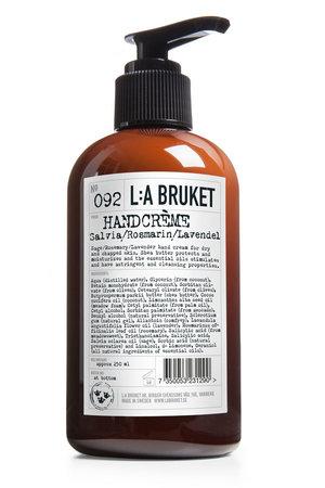 LA Bruket 092 Hand cream sage/rosemary/lavender - 250 ml