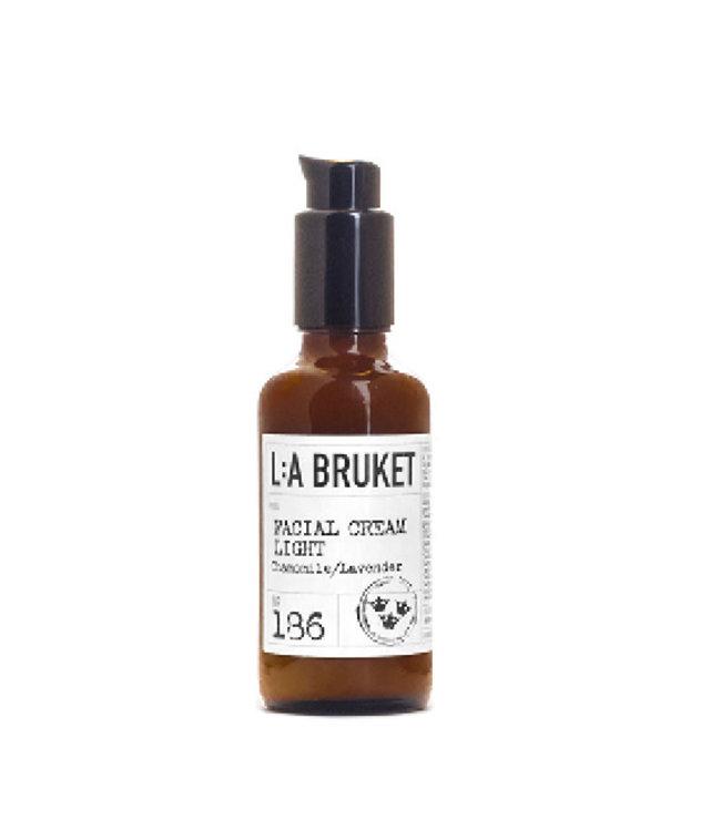 LA Bruket 186 Facial cream light camomile/lavender - 50 ml