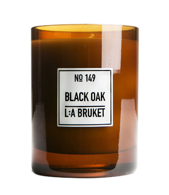LA Bruket 149 Scented candle black oak - 260 g