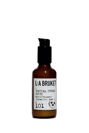 LA Bruket 101 Facial cream rich carrot/bergamot - 50 ml
