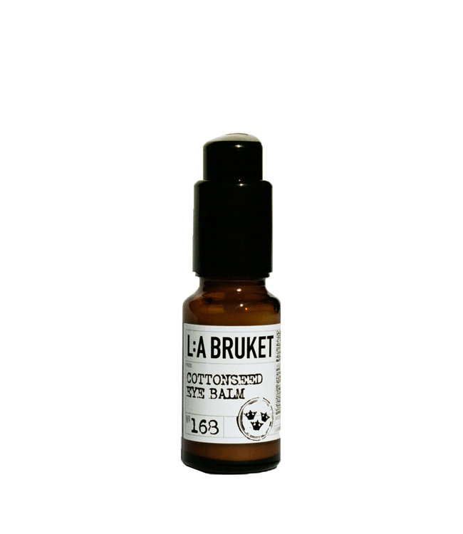 LA Bruket 168 Cottonseed eye balm - 15 ml