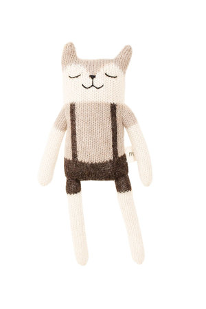 Main Sauvage Fawn soft toy - overalls