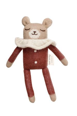 Main Sauvage Wollen teddybeer - sienna