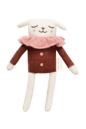 Main Sauvage Lamb soft toy - sienna blouse