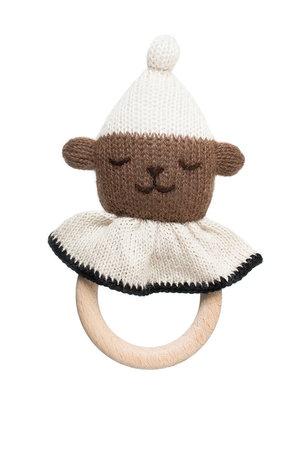 Main Sauvage Teddy teething ring