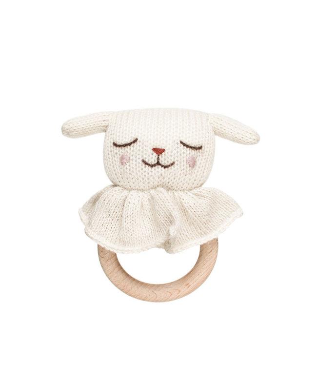 Lamb teething ring