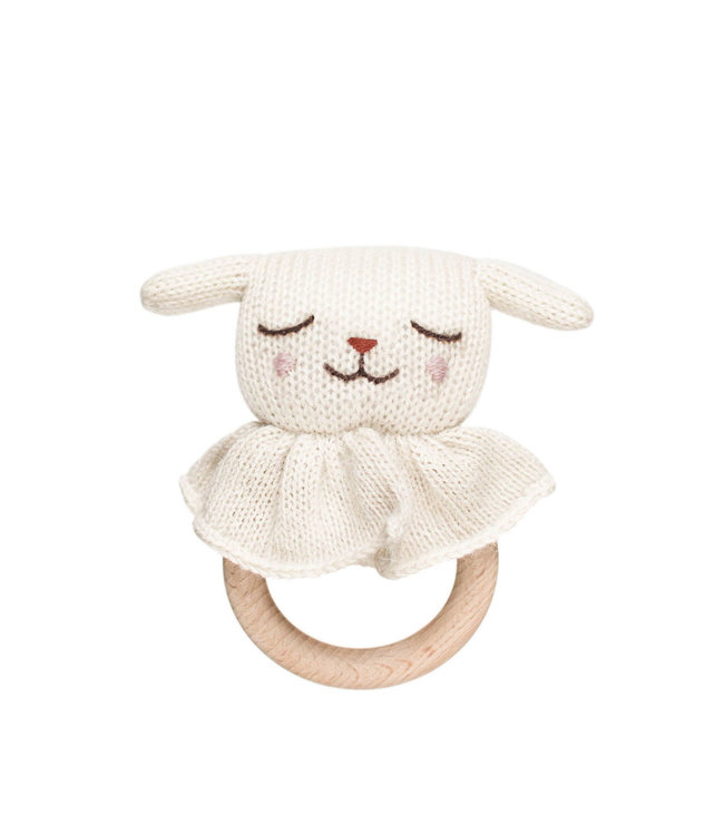 Main Sauvage Lamb teething ring
