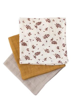 Main Sauvage Muslin doeken, set van 3 - meadow