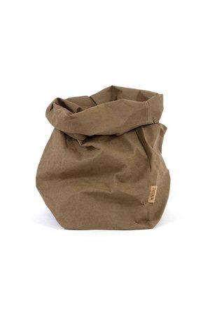 Uashmama Uashmama paperbag - olive green