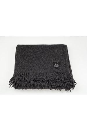 Alpaka Plaid alpaca wool - charcoal