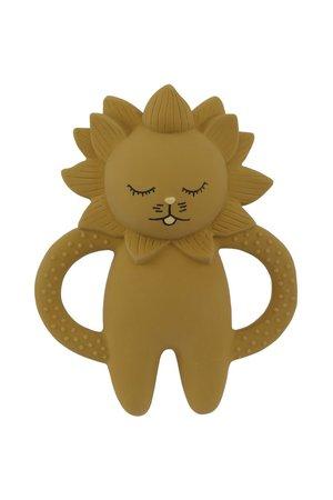 Konges Sløjd Teeth soother lion - mustard