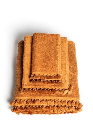 Towel amber Lamu - amber, 3 sizes