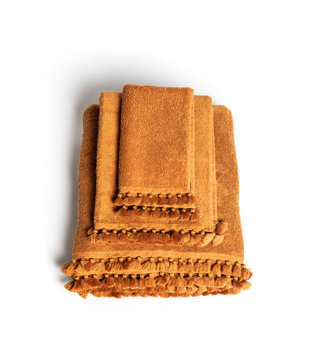 Towel amber Lamu - amber, 3 sizes