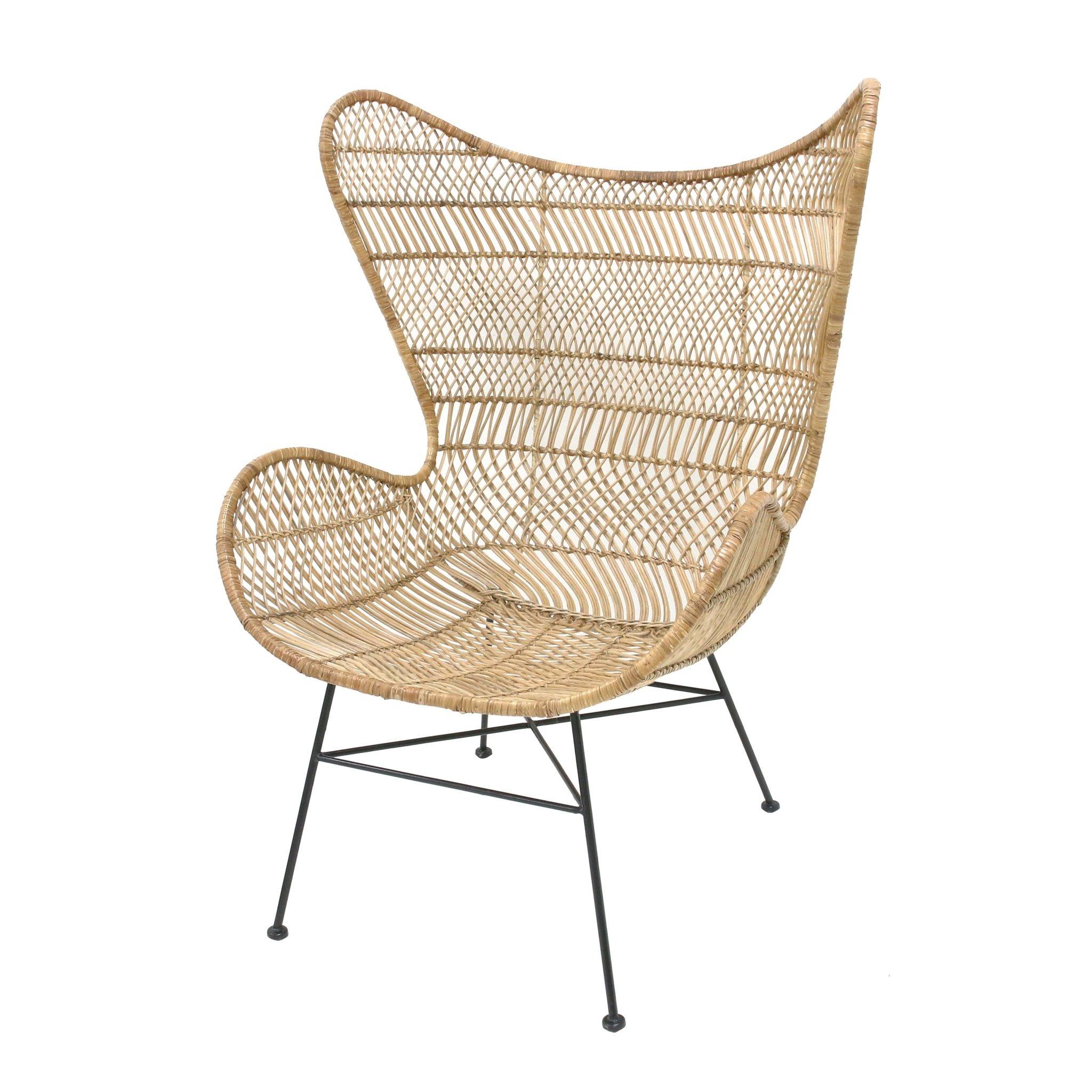 Rotan Egg Chair Couleur Locale