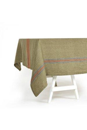 Libeco St. Jacob's stripe tablecloth