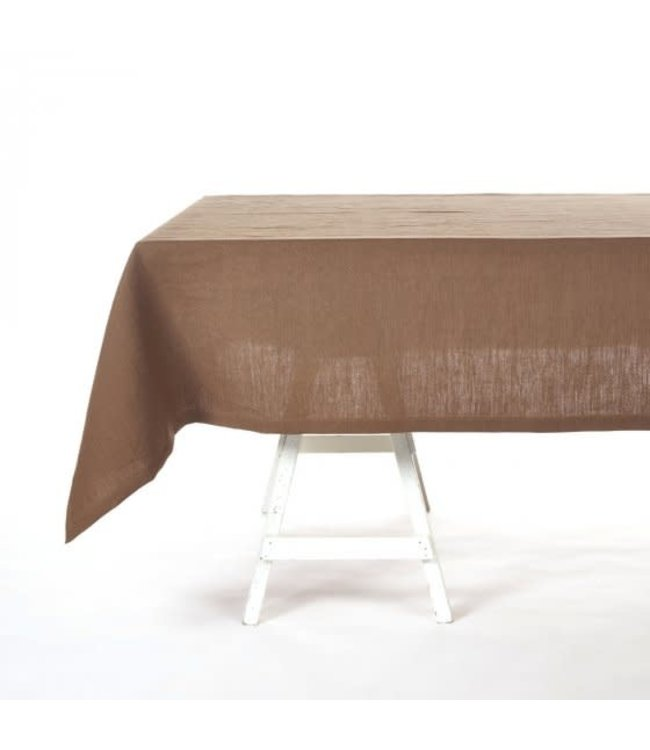 Timmery tablecloth - beeswax brown