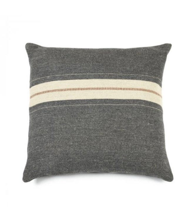 Libeco Luc deco pillow - stripe