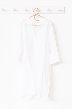 Linge Particulier Caftan - optic white
