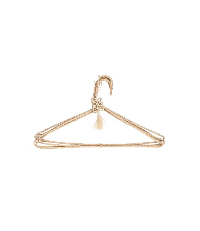 Woven coat hanger set 5-pack