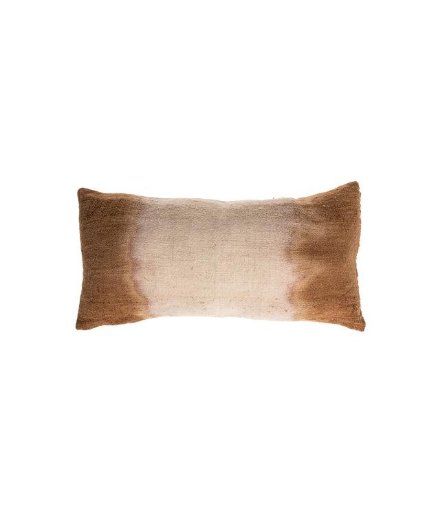 Cushion Bayeta sides millepertuis - cachou