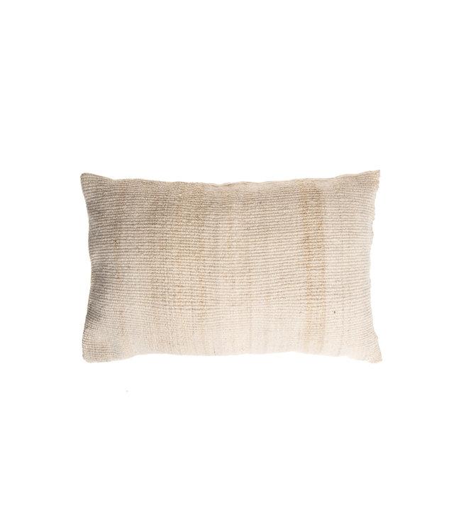 Cushion alpaca - ecru