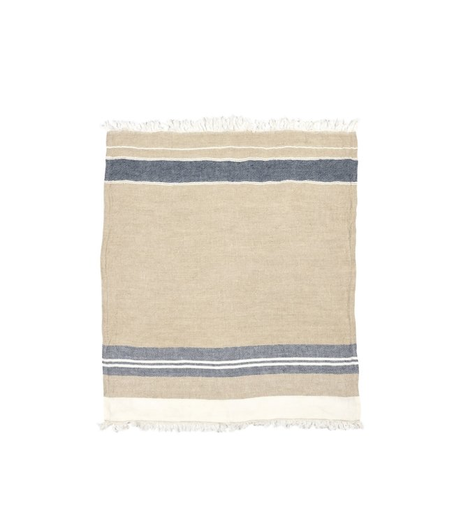 Libeco The Belgian towel fouta - bastion stripe