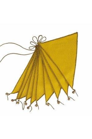 Numero 74 Vlaggenslinger thai cotton - sunflower yellow
