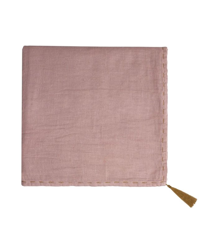 Nana swaddle - dusty pink