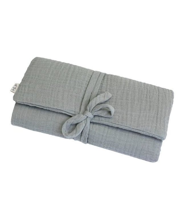 Numero 74 Travel changing pad one size - silver grey