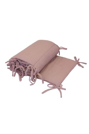Numero 74 Bed bumper one size - dusty pink