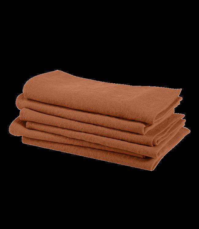 Linge Particulier Napkin linen - sienna