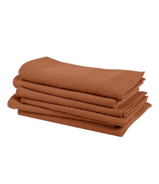 Napkin linen - sienna